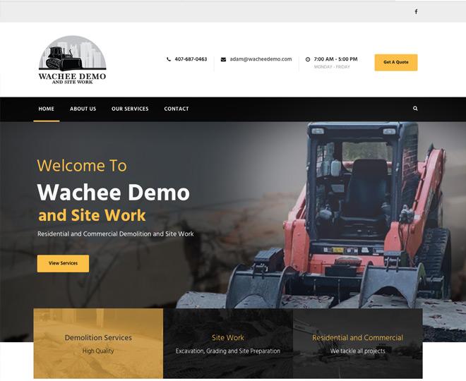 Wachee Demo and Site Work