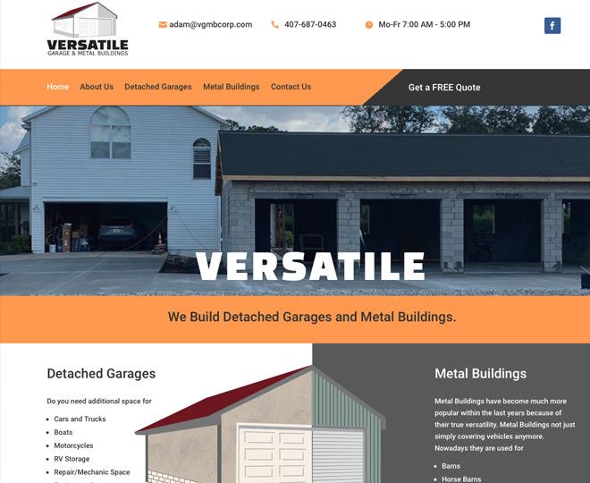 Versatile Garage and Metal Buildings